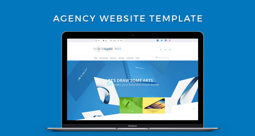 Agency Website Template HTML