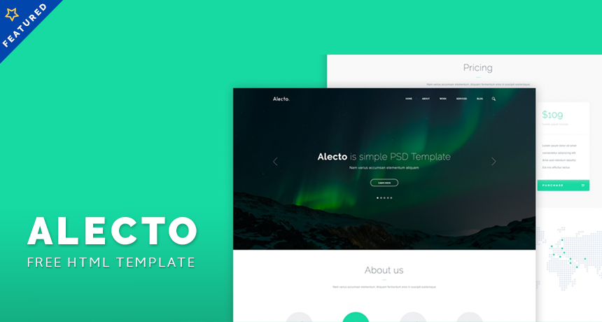 Alecto HTML Template Download