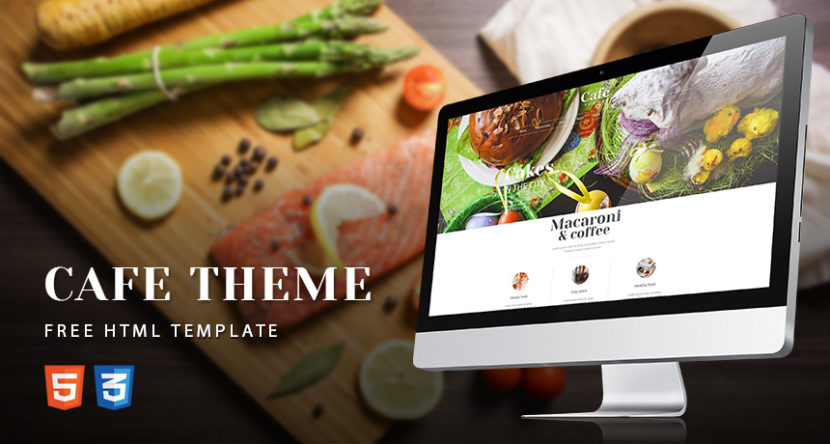CAFE THEME Free HTML Template