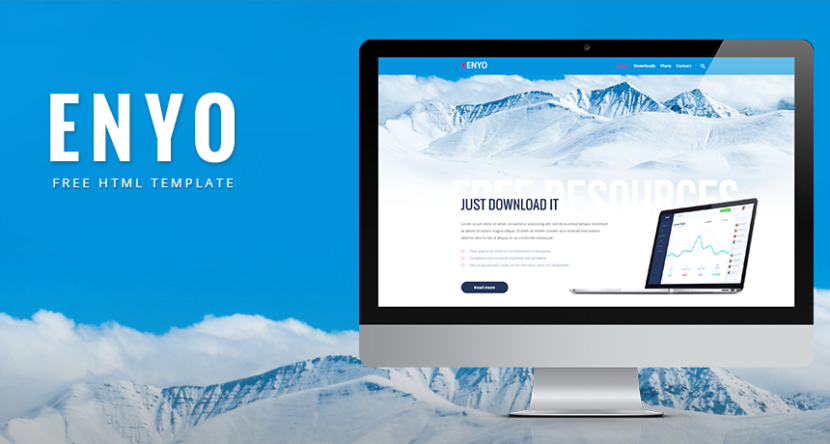 Free Enyo HTML Template