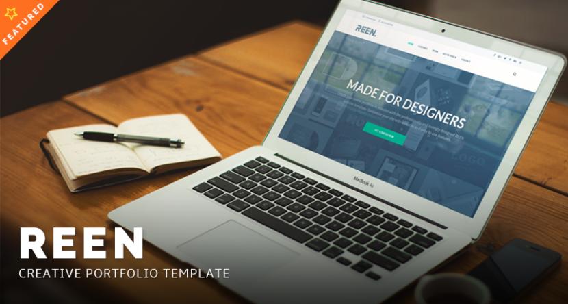 REEN – PSD Creative Portfolio HTML Template