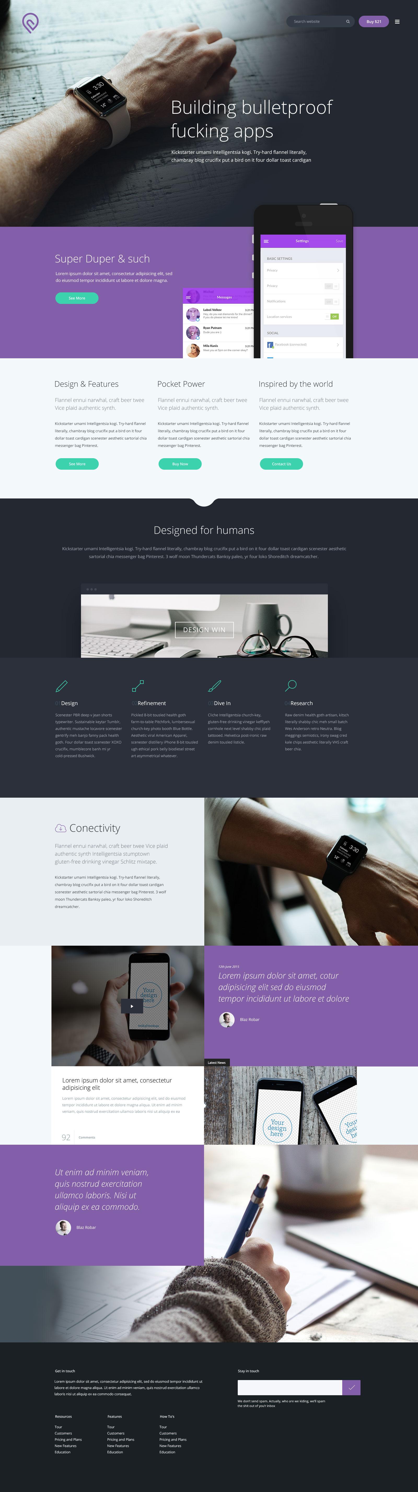 Tork - A Free Website Template | Free HTML5 Templates