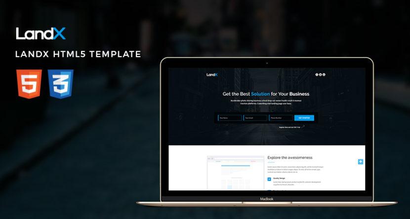 LandX HTML5 Template