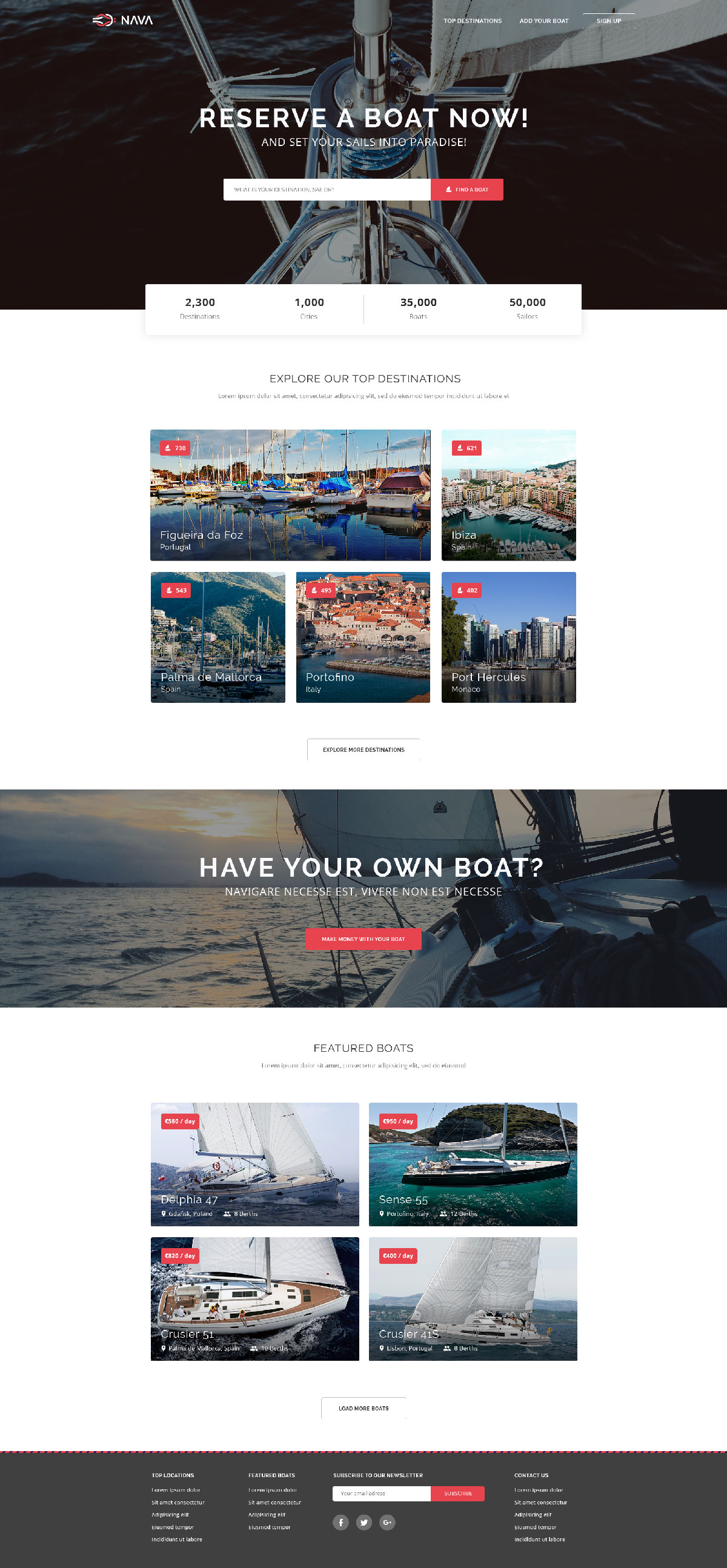 Nava one page html template free html5 templates nava one page html template nava one page psd template free download maxwellsz