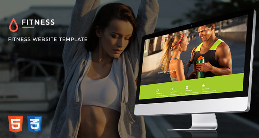 Fitness Website Free Bootstrap Template