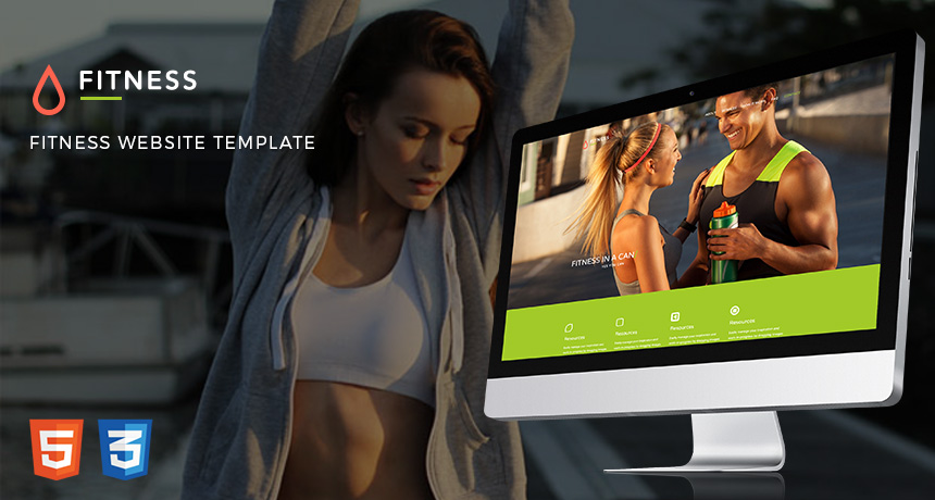 Fitness Website Free Bootstrap Template | Free HTML5 Templates