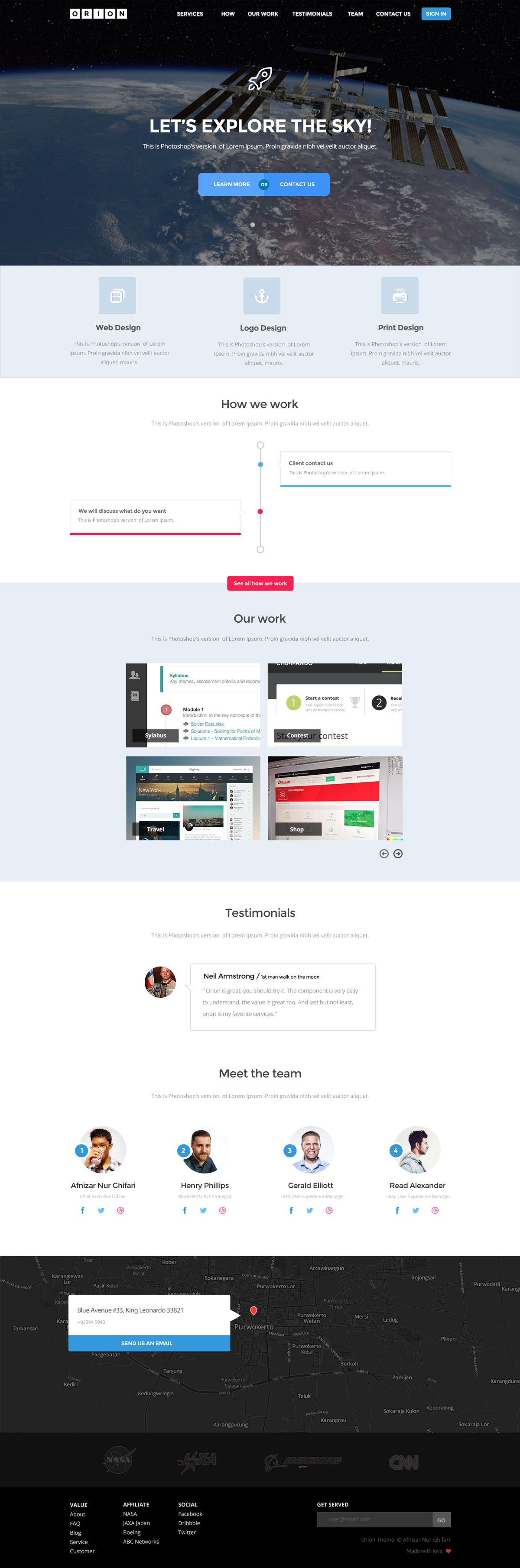 Free-Orion-PSD-Template