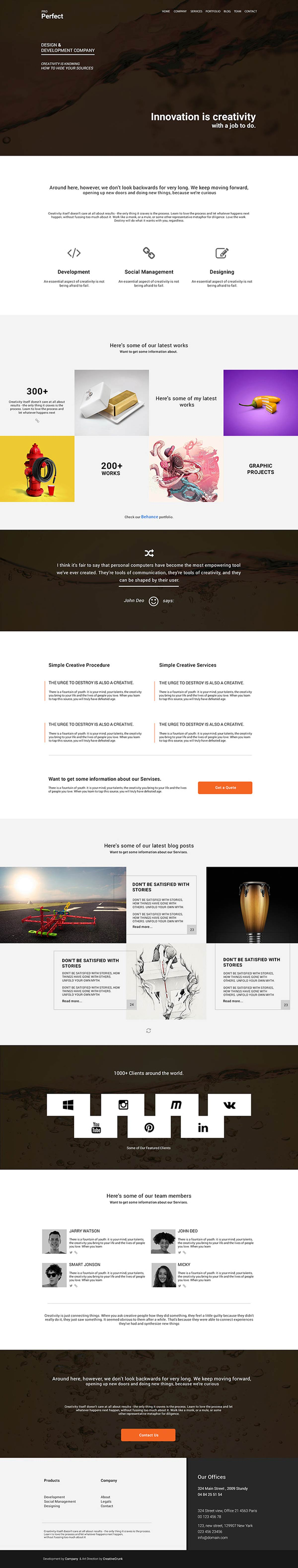 ProPerfect-–-Multipurpose-One-Page-Psd-Template-Free-Download