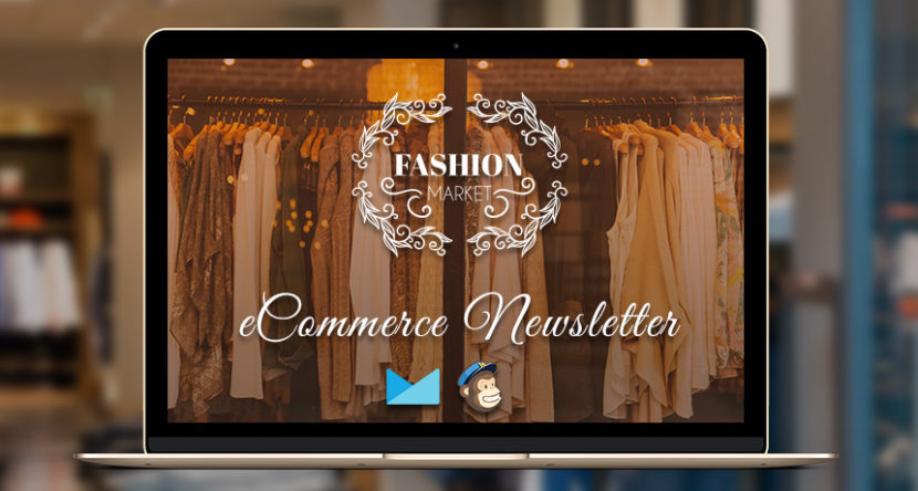 FashionMarket eCommerce Newsletter PSD + HTML Template