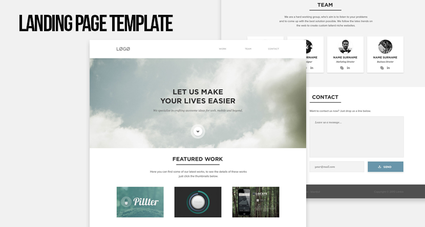 KAAN PSD Web Theme HTML Template